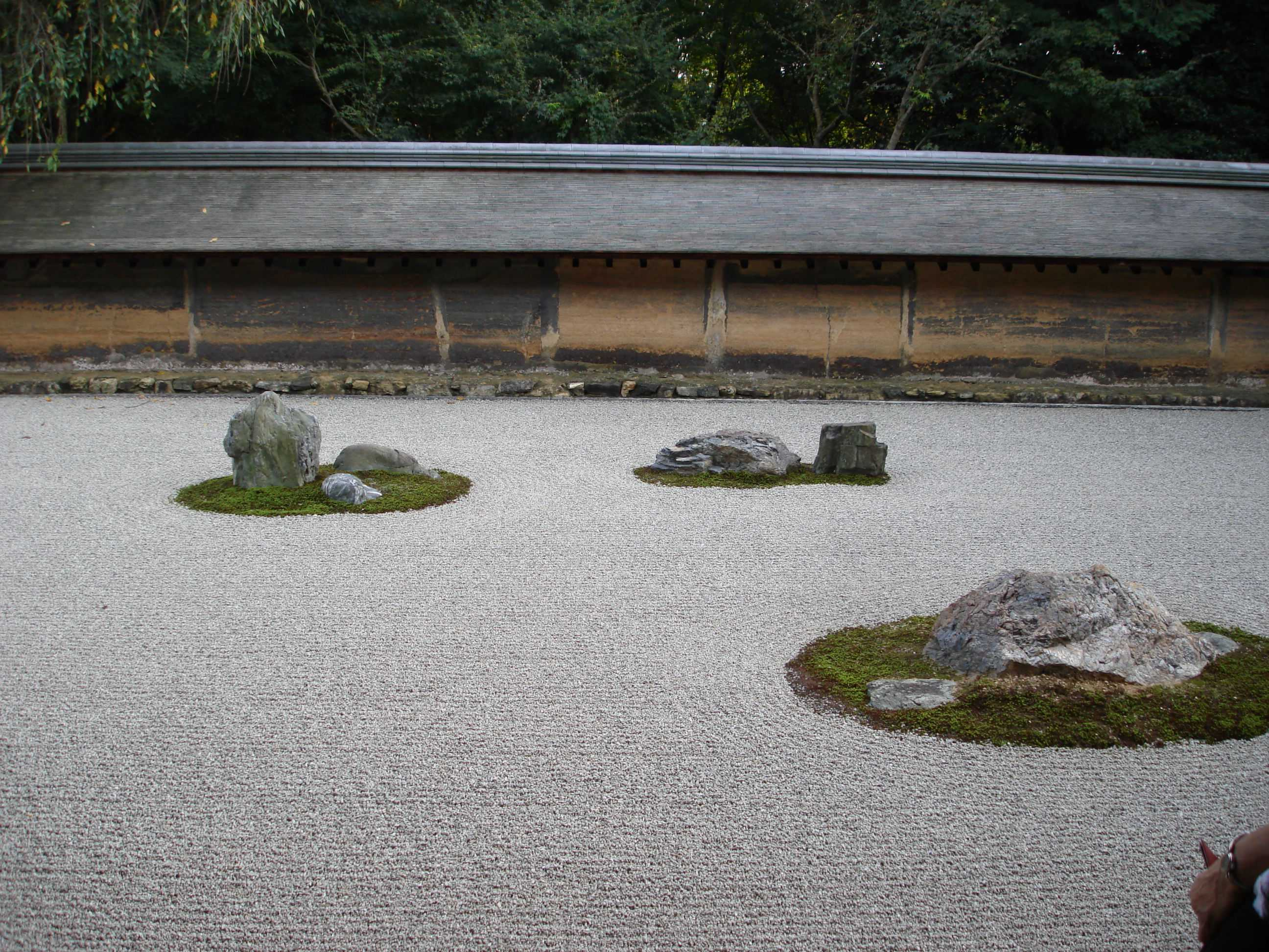 Ryoanji garden design native garden design Pictures of zen rock gardens